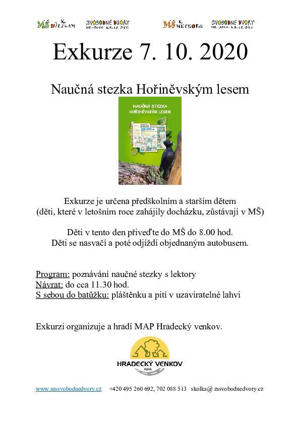 Naučná stezka Hořiněvským lesem